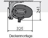 Deckenhalter