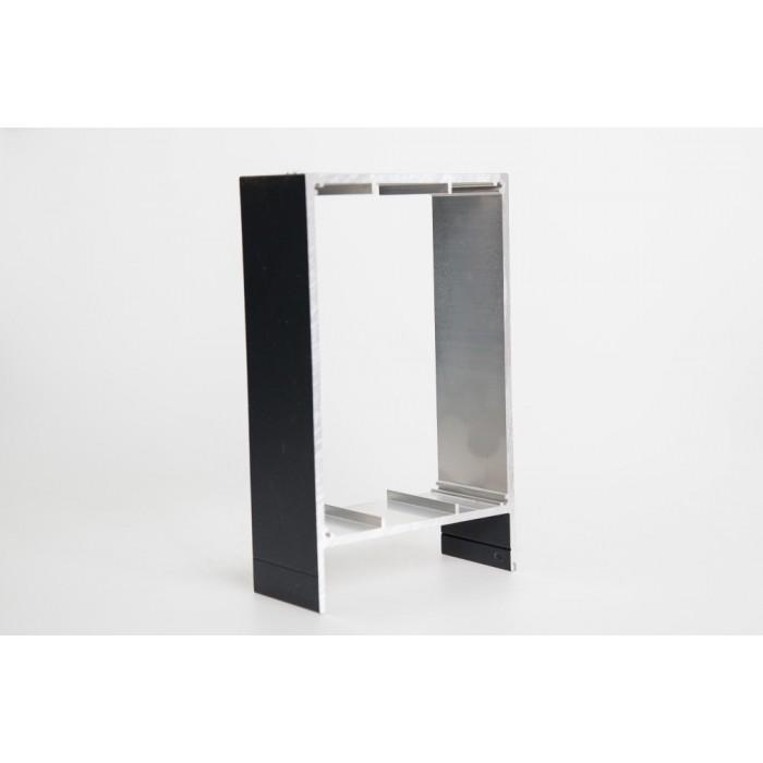aluunterkonstruktion einzelprofile aluprofile terrassen berdachungen stegplatten und markisen. Black Bedroom Furniture Sets. Home Design Ideas