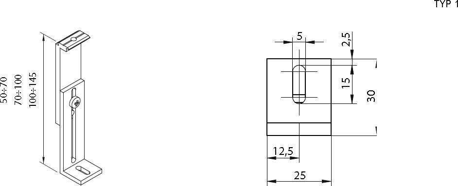 Ausführung 1 (50-70mm)