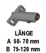 Führungsschienenhalter Typ A 50 - 70mm