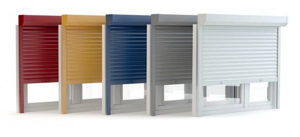 Vorbaurollladen aus Aluminium konfigurieren