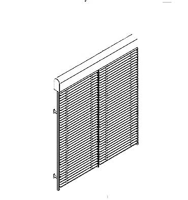 Raffstoren Z90 zweiteilige Anlage