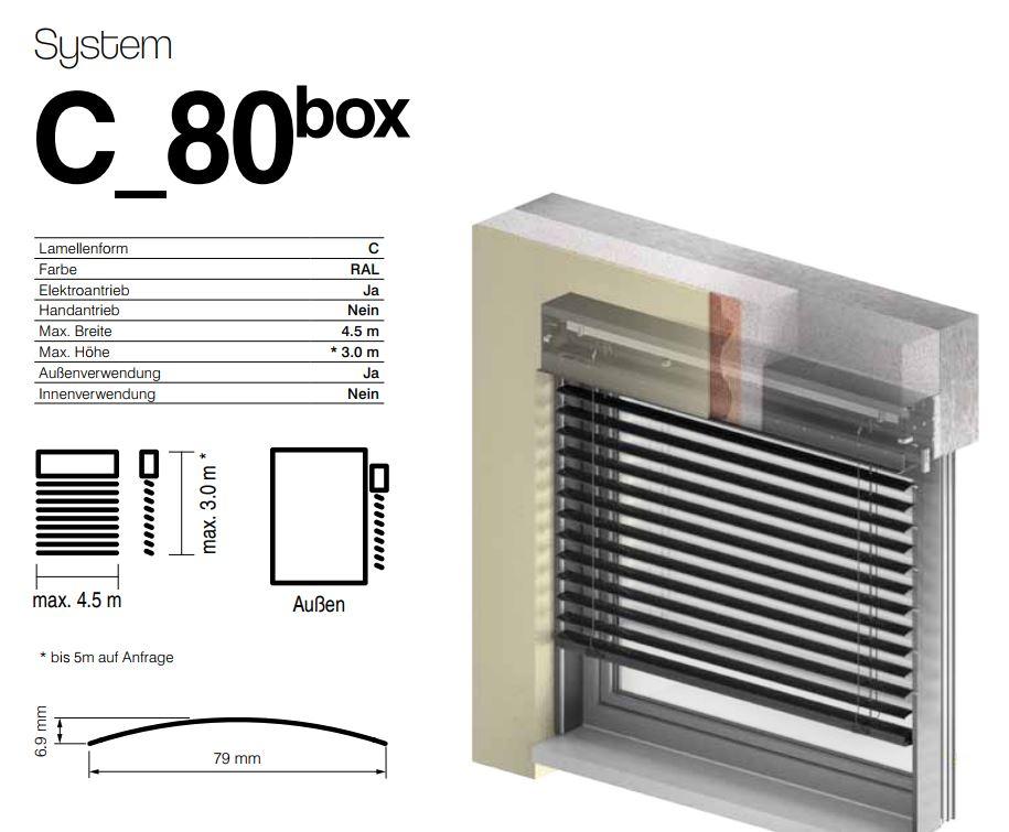 C80 elektrisch Unterputz