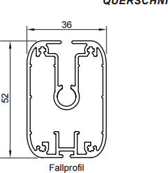 Fallprofil Typ FG 51