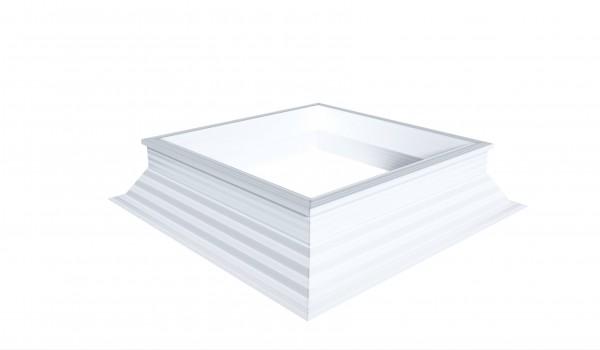 PVC-Aufsatzkranz 30/20 rechteckig Lüftbar