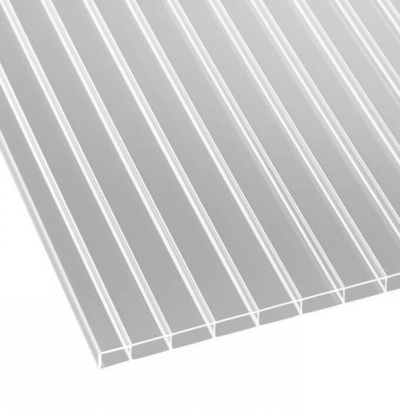 Doppelstegplatten Acryl 16/32 klar liegend