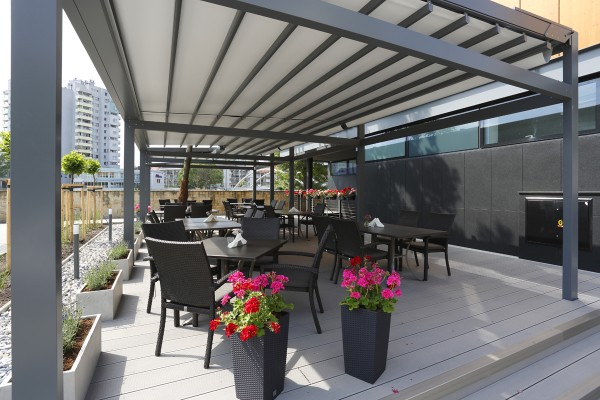 Terrassendachmarkise Pergola Solid freistehend