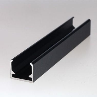Aluminium-Endprofil für Aluminiumzäune MaRoWall