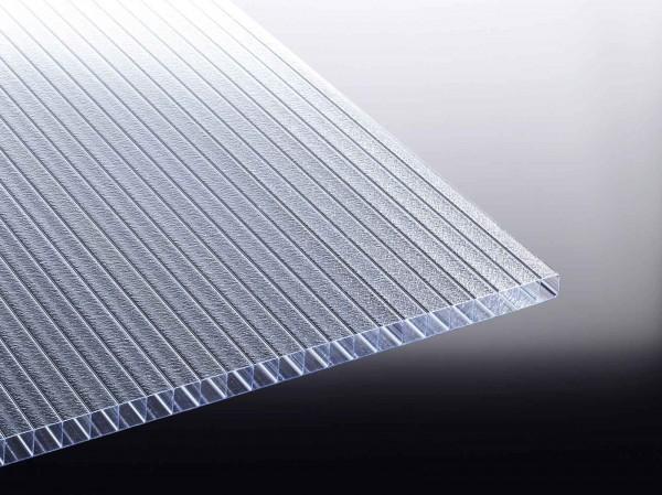 Stegdoppelplatten Eiskristall Glasklar