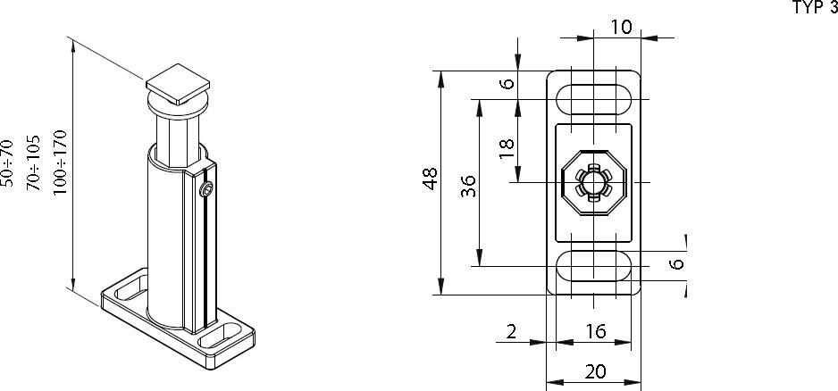 Ausführung 3 (50-70mm)