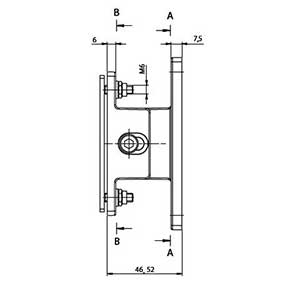 Justierhalter 52-58mm