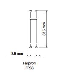 Fallprofil FP 33