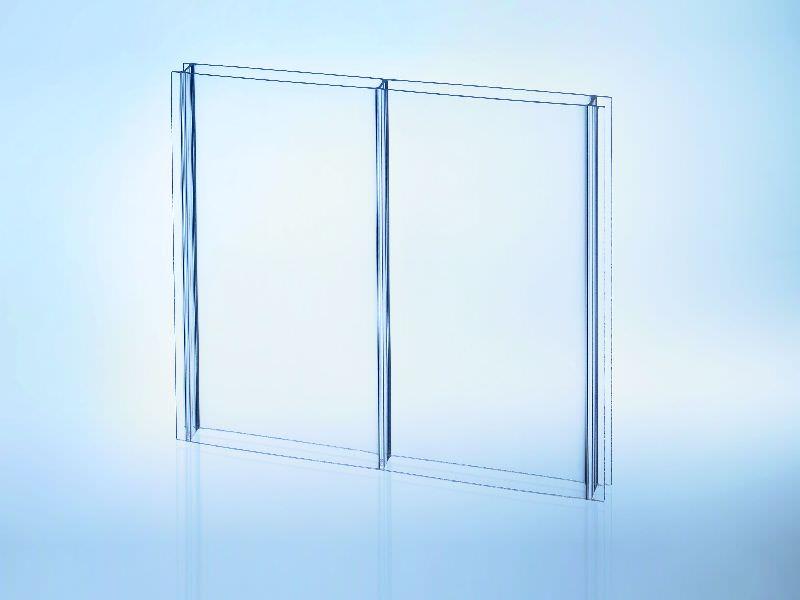 Doppelstegplatten Acryl 16/96 glasklar