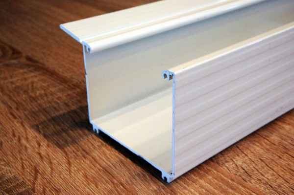 Aluminium Kastenrinne farbig