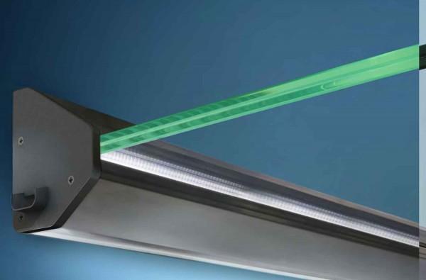 LED Echtglasvordach HD beleuchtet