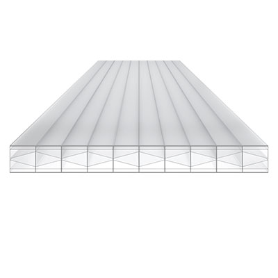 Polycarbonat Top X klar 16mm