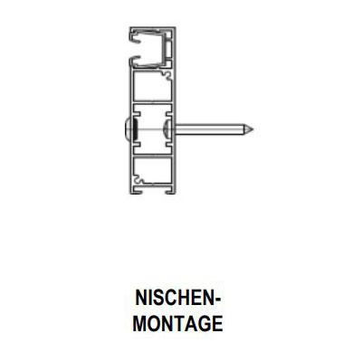 Nischen-Montage