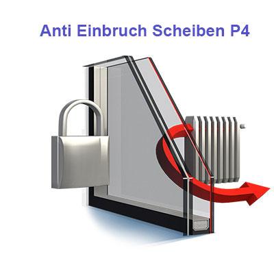 Anti-Einbruch-Scheibe P4