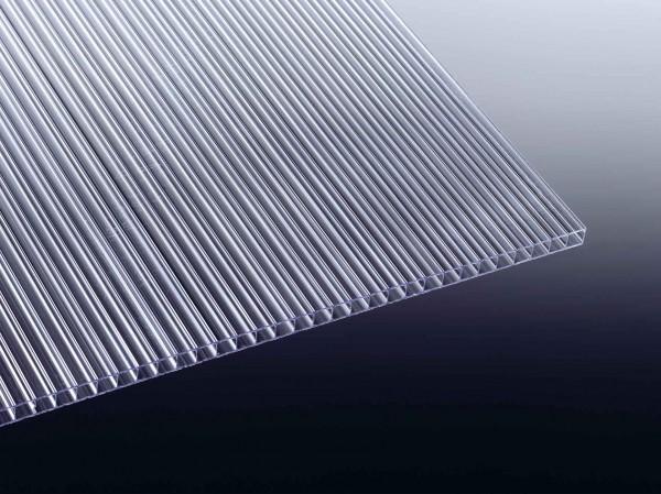 Doppelstegplatten / Stegpatten 6mm klar
